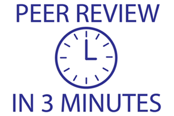 Video credit: Peer Review in 3 Minutes by NCSU Libraries, CC: BY-NC-SA 3.0 US