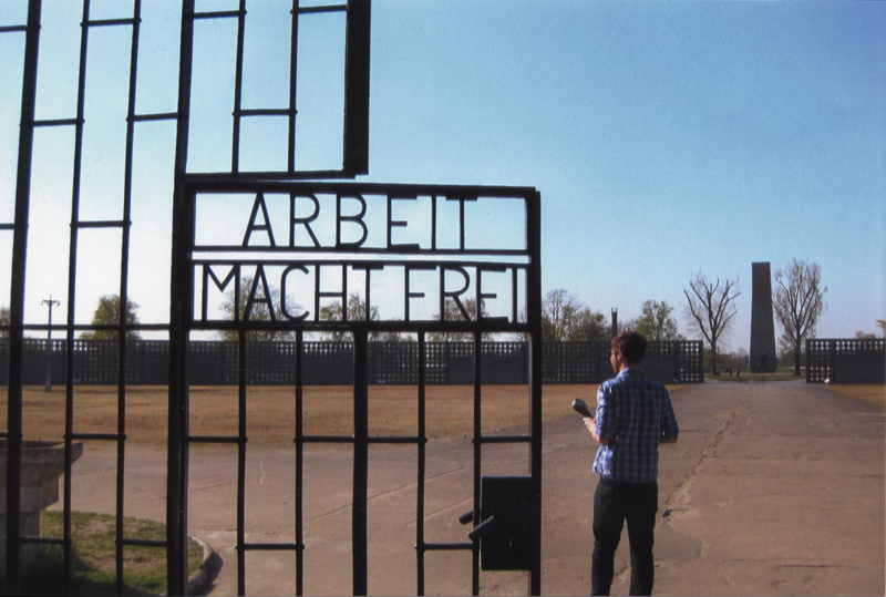 Memorial Sachsenhausen Concentration Camp, gates – EBook Margaret A. McQuillan: An Orange in Winter / The Beginning of the Holocaust as Seen Through the Eyes of a Child