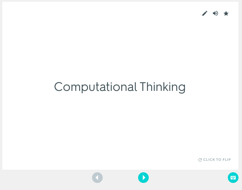Integrating Computational Thinking – K-12 Technology Integration