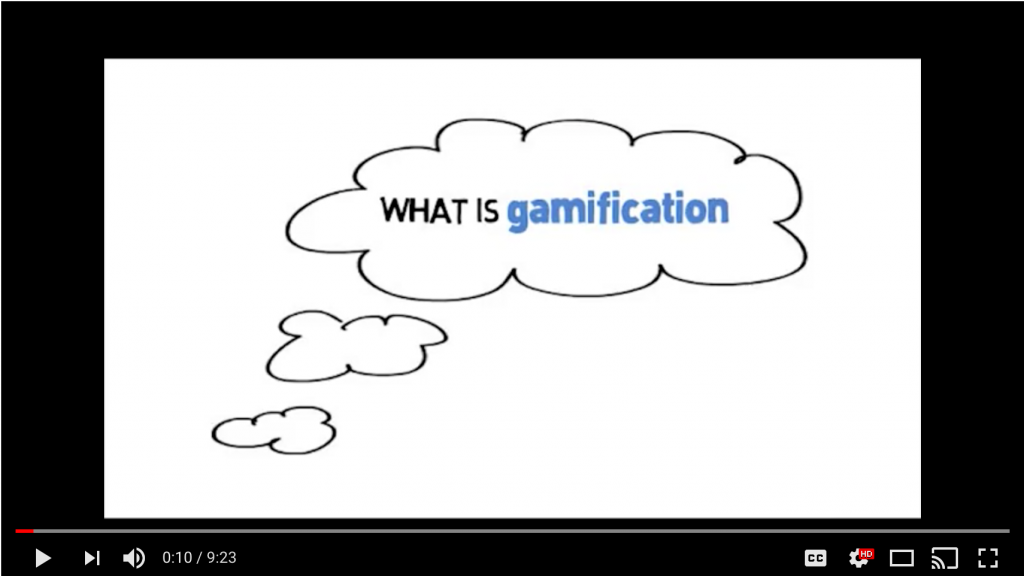 What is Gamification? A Few Ideas video by Karl Kapp