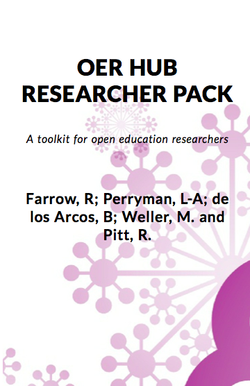 Cover image for OER Hub Researcher Pack