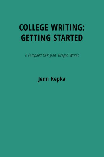 Cover image for College Writing: Getting Started