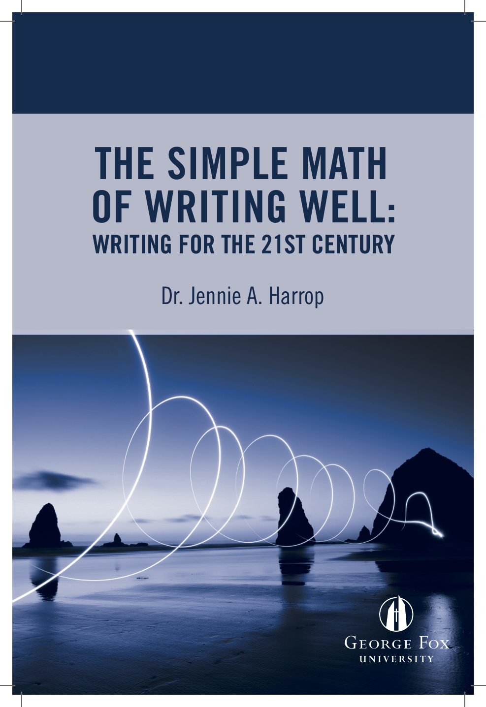 Cover image for The Simple Math of Writing Well