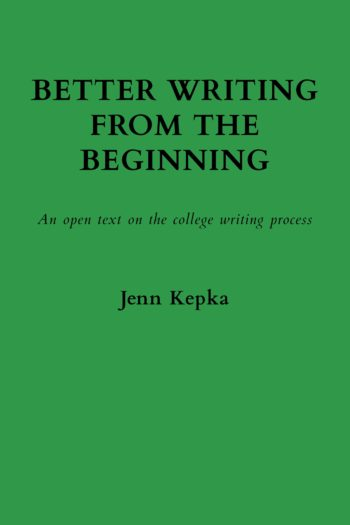 Cover image for Better writing from the beginning
