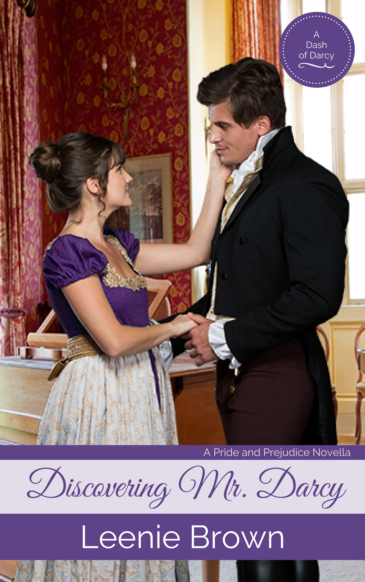 Cover image for Discovering Mr. Darcy