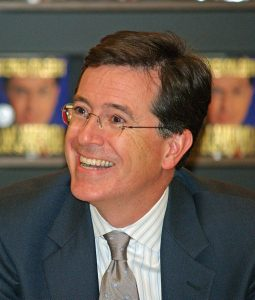 Colbert in May 2009