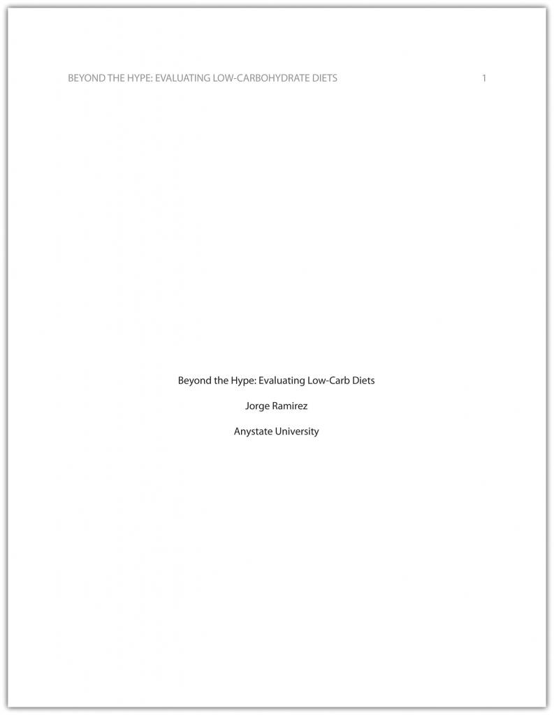 Beyond the Hype: Evaluating Low-Carb Diets cover page