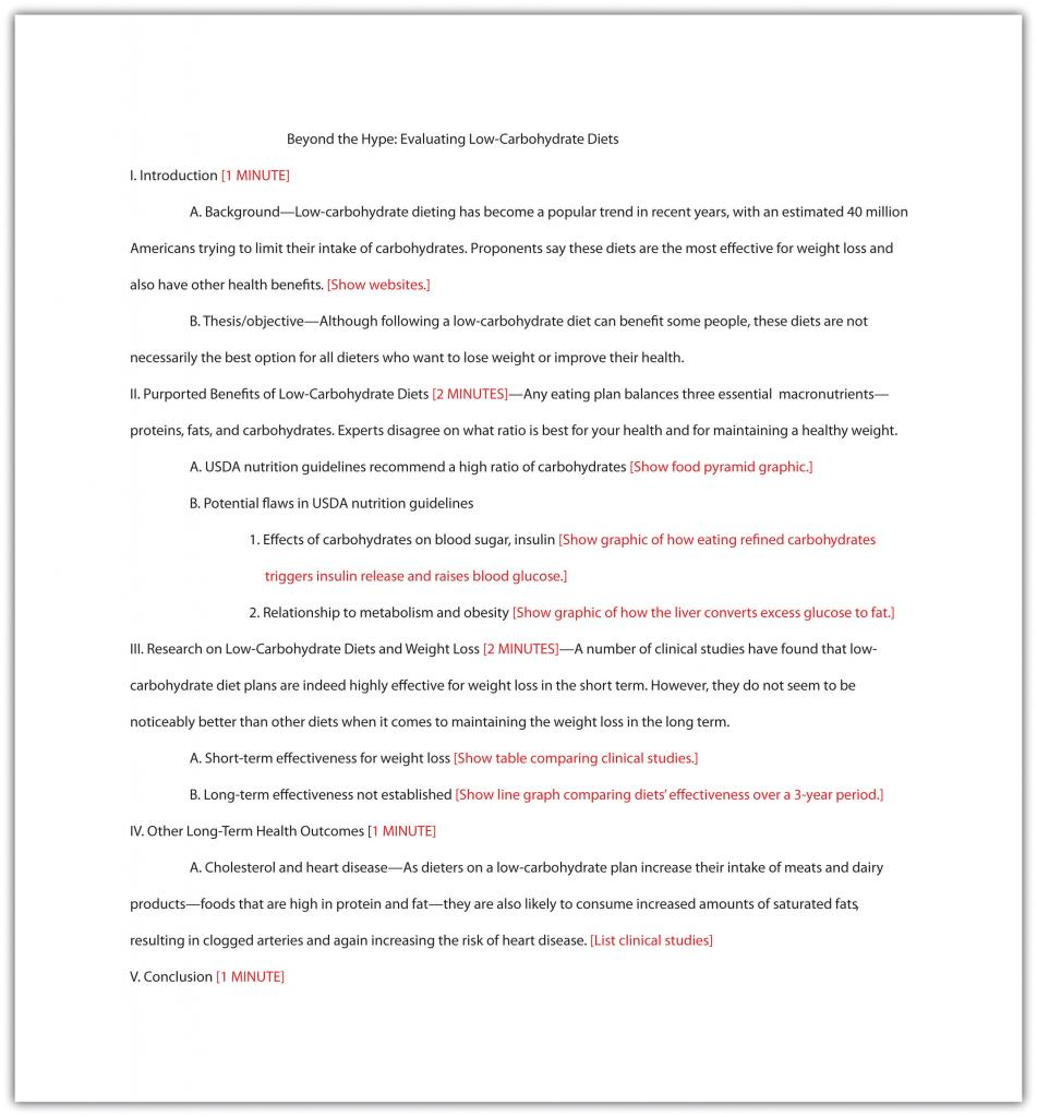 Jorge's annotated outline