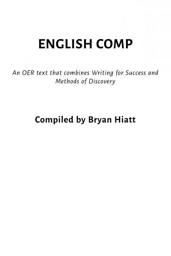 Cover image for English Comp
