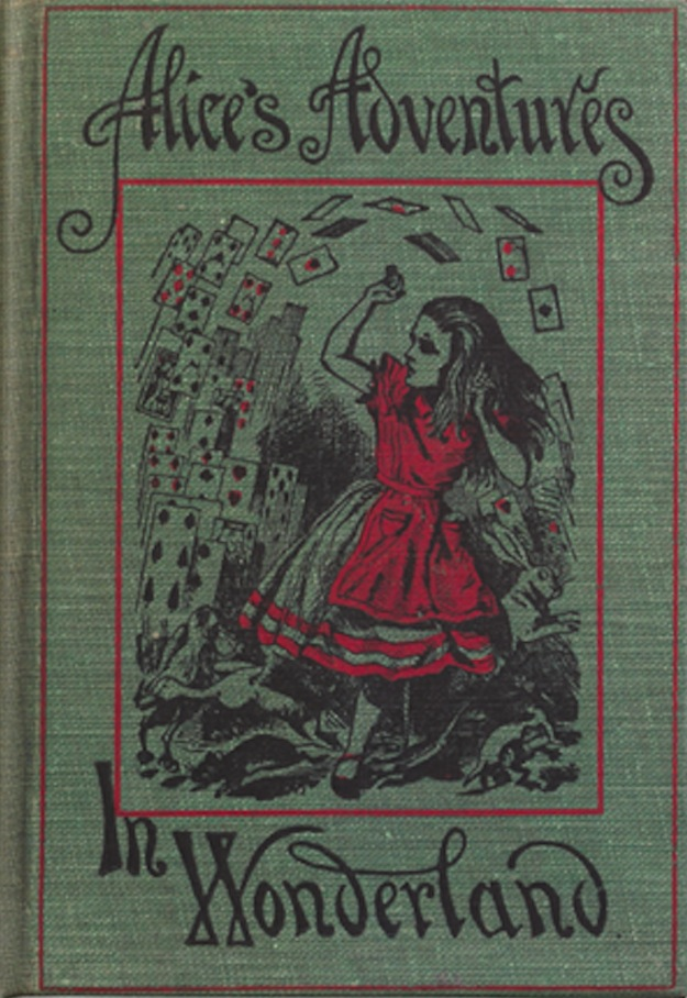Page couverture de Alice's Adventures in Wonderland